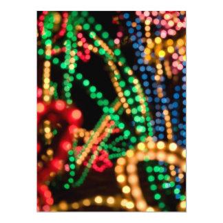 """Lights Aglow #1 - 6.5 x 8.75"""" Card"""