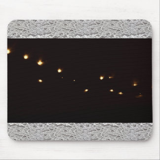 Lights and Lace Mouse Pad