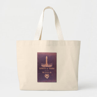 Lights and Tides of the World Large Tote Bag