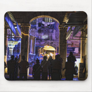 Lights at the Christian Quarter Mouse Pad