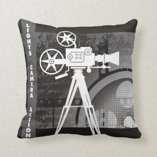 Lights, Camera, Action 16x16 Pillow