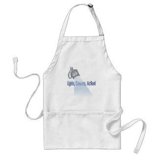 """Lights, Camera, Action!"" Adult Apron"