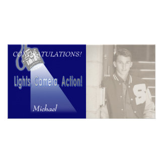 """Lights, Camera, Action!"" Card"