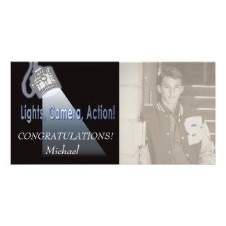 Lights Camera Action! Card