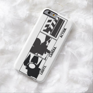 Lights Camera Action Film  Movie Maker Barely There iPhone 6 Case