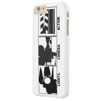 Lights Camera Action Film  Movie Maker Barely There iPhone 6 Plus Case
