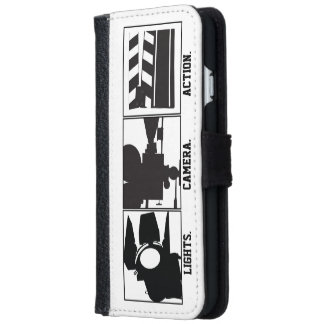 Lights Camera Action Film  Movie Maker Wallet Phone Case For iPhone 6/6s