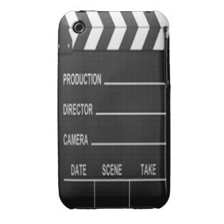 Lights Camera Action iPhone 3 Case