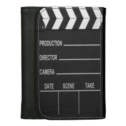 Lights Camera Action - Leather Wallet