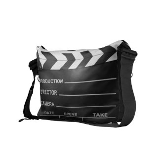 Lights Camera Action Messenger Bags
