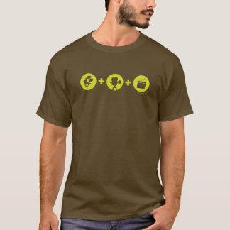 """Lights, camera, action!"" t-shirt"