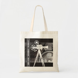 Lights, Camera, Action Tote Bag