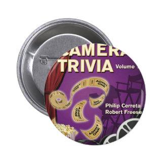 LIGHTS CAMERA TRIVIA VOL. 1 by Cerreta and Freese 2 Inch Round Button