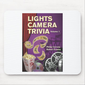 LIGHTS CAMERA TRIVIA VOL. 1 by Cerreta and Freese Mouse Pad