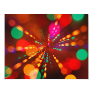 Lights glowing (blur motion background) card
