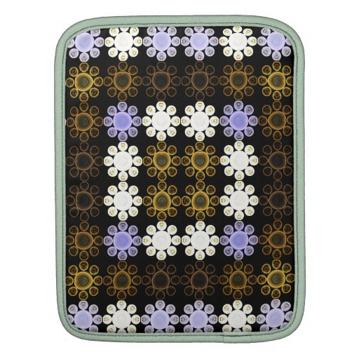 Lights Grid Sleeves For iPads