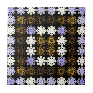 Lights Grid Small Square Tile