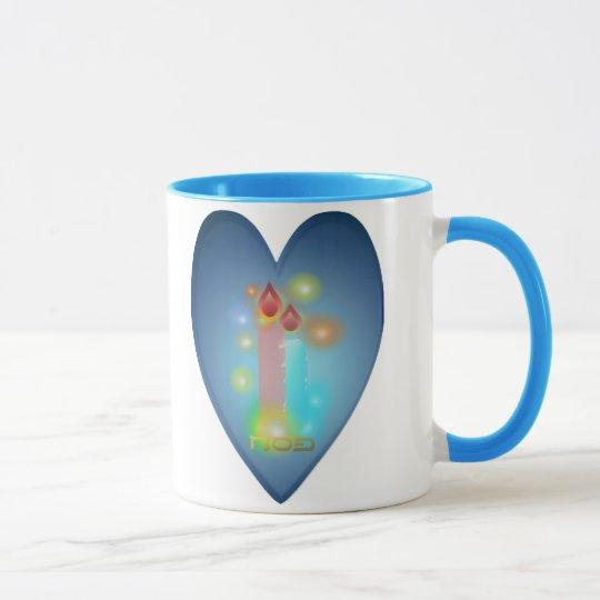 Lights Heart Mugs