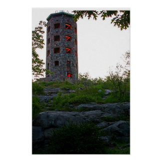 Lights in Enger Tower Print