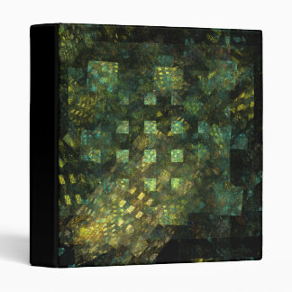 Lights in the City Abstract Art Binder