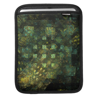 Lights in the City Abstract Art iPad Sleeve