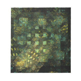 Lights in the City Abstract Art Notepad