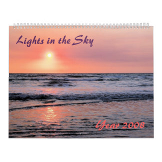 Lights in the Sky Calendar