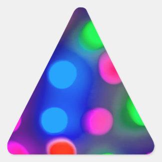 Lights jpg calcomanías trianguladas