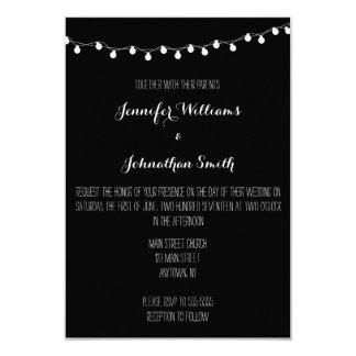 Lights Modern Wedding Invitations