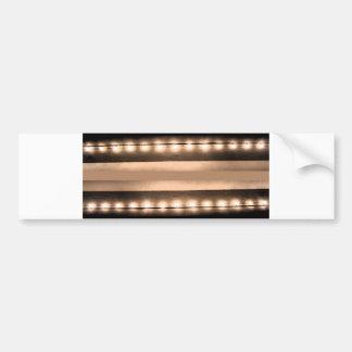 Lights of Broadway NYC Sparkle City Car Bumper Sticker