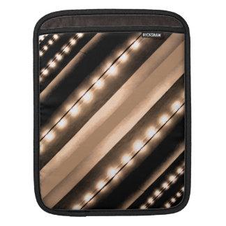 Lights of Broadway NYC Sparkle City iPad Sleeves