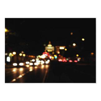 Lights of city card