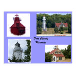 door county lighthouses, wisconsin lighthouses,