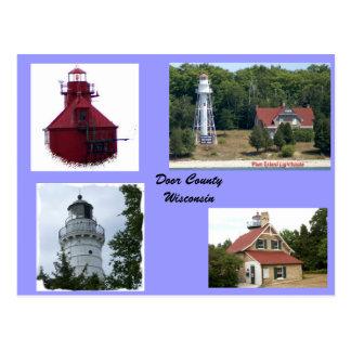 Lights of Door County Postcard
