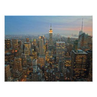 Lights of Manhattan Photo Print