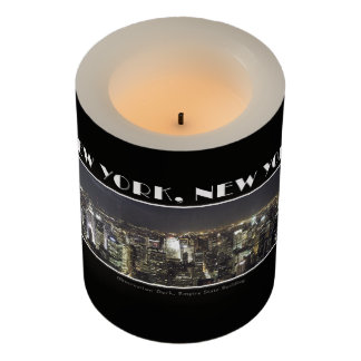 Lights of New York City Flameless Candle