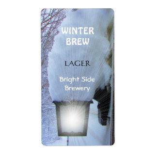 Lights On ~ Beer bottle Label