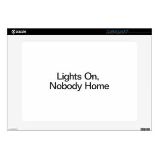 Lights On, Nobody Home Skin For Laptop
