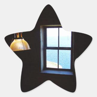 Lights On Star Sticker
