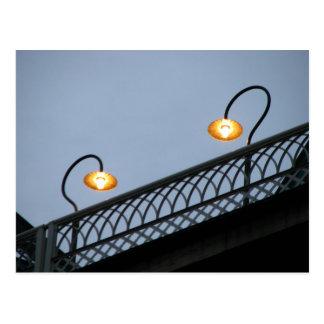 Lights on the Walnut Street Bridge Postcard