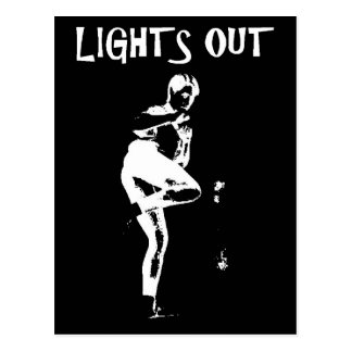 Lights Out Postcard