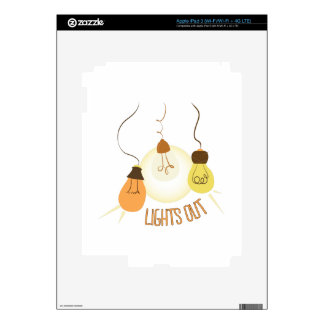 Lights Out iPad 3 Skin