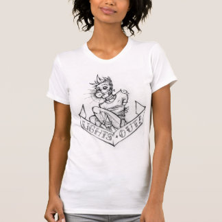 Lights Out! Tattoo flash ladies' shirt