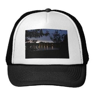 Lights Reflecting on Lake Swan, Georgia Trucker Hat