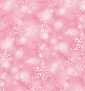 lights snowflakes pink christmas wrapping paper