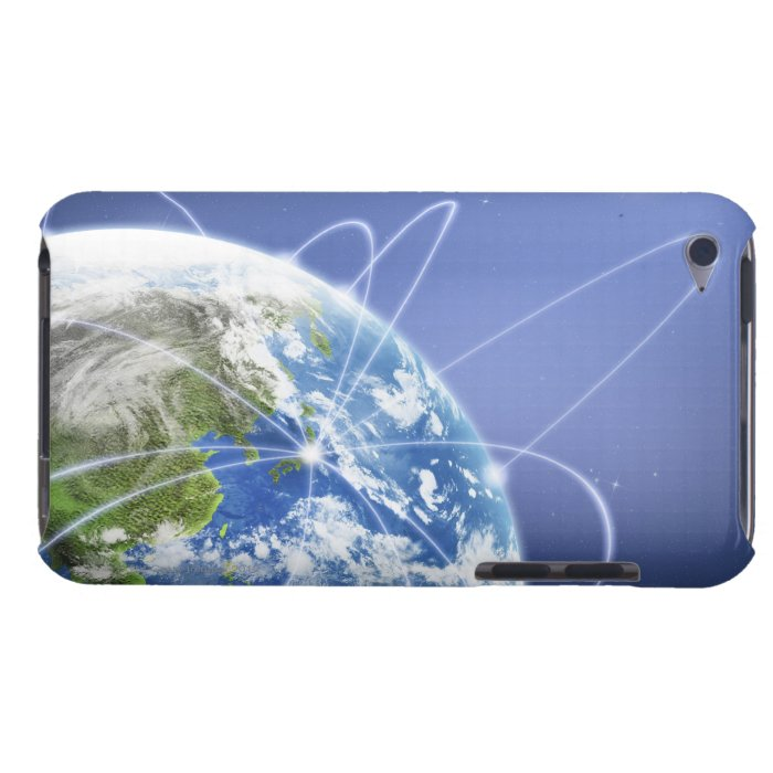 Lights Surrounding Earth Barely There iPod Case