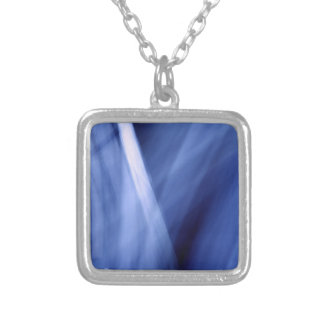Lightscape ii: Oceanic Silver Plated Necklace