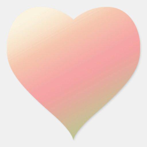 LightShade llano: Las ondas añaden imagen del Pegatina En Forma De Corazón