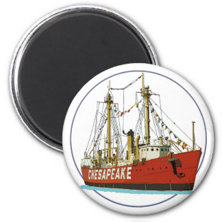 Lightship Chesapeake Fridge Magnet