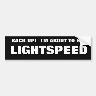 LIGHTSPEED PEGATINA PARA AUTO
